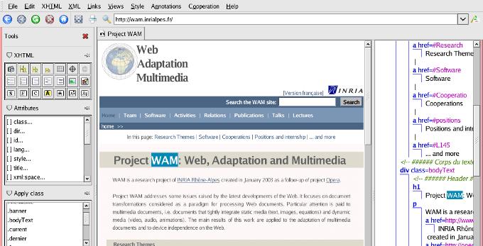 amaya software web