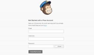 registro mailchimp