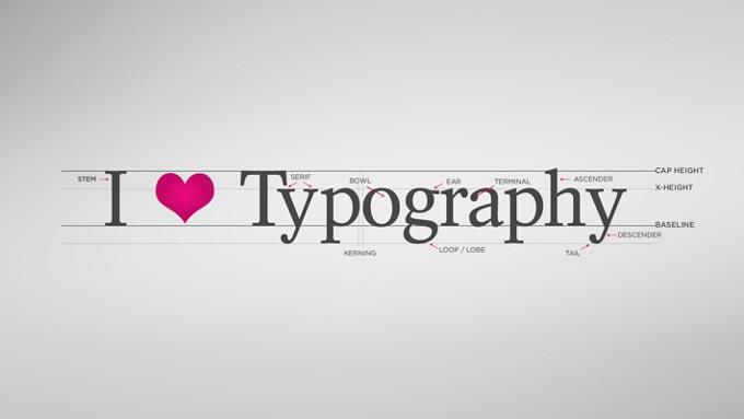tipografia diseño web